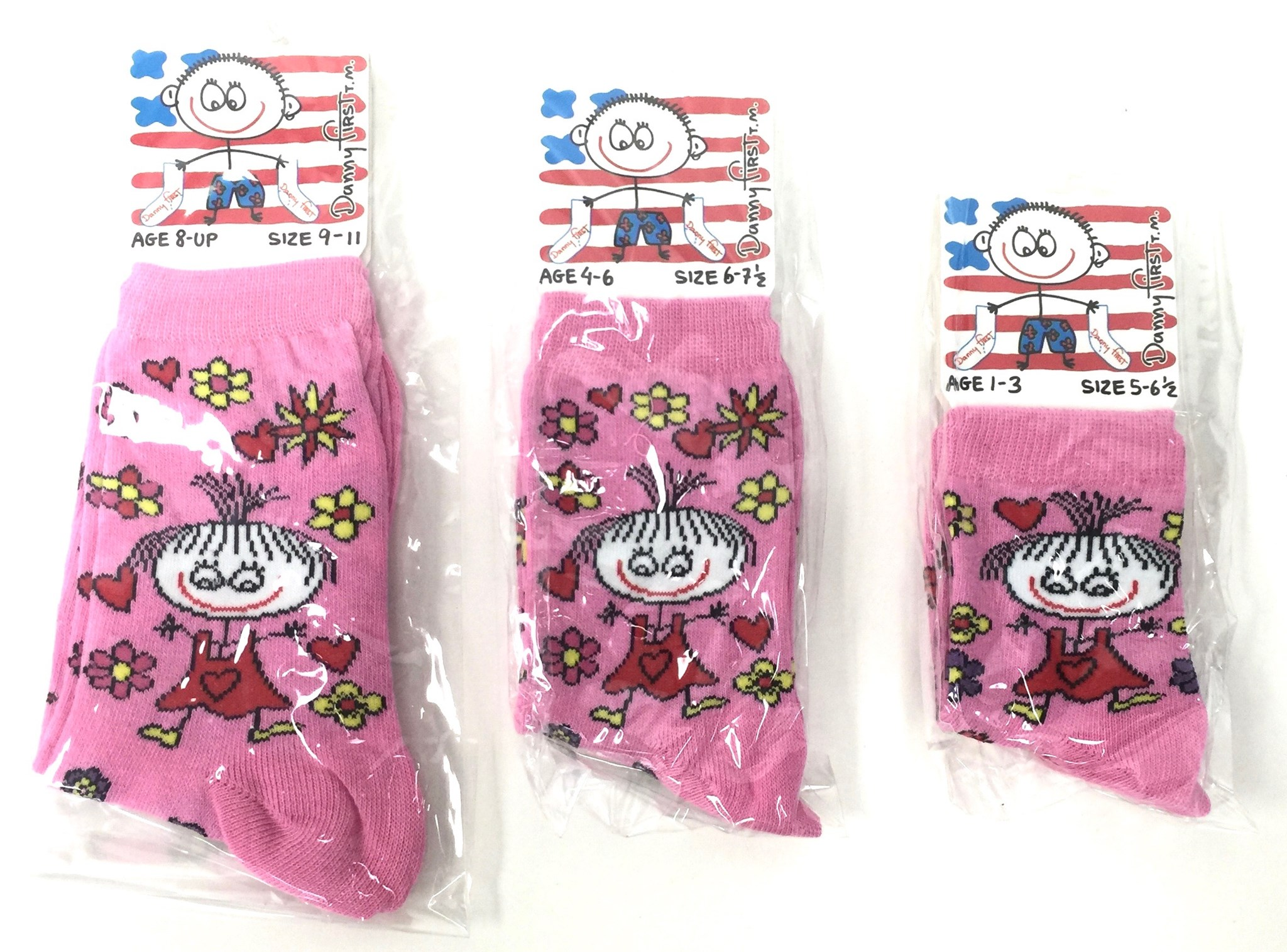 Kids Sock - Flowers of Love
