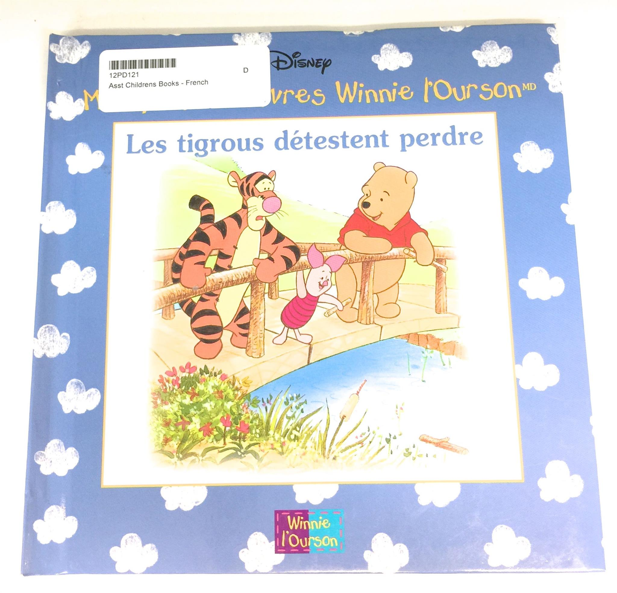 Asst Childrens Books - French