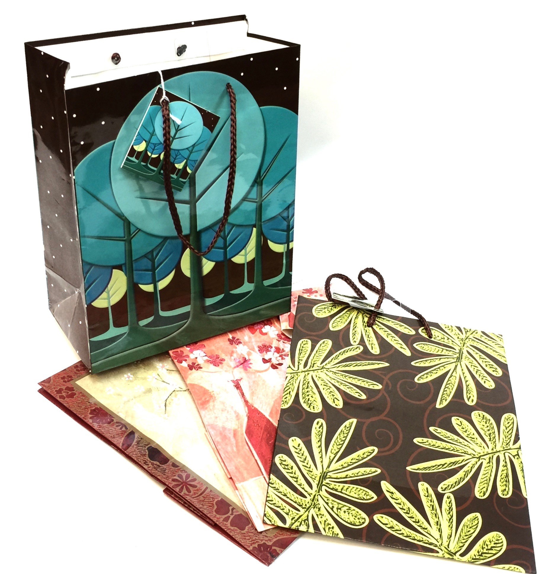 Medium Gift Bag - Floral Asst