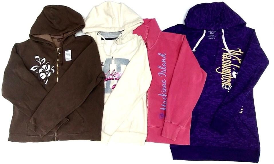 (LAK128) Ladies Decorated Sweatshirts