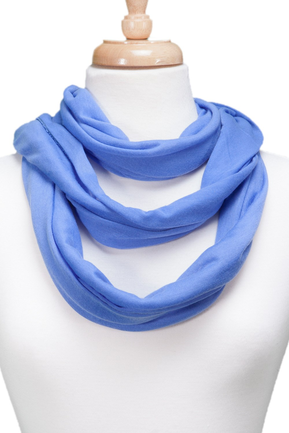 Solid Infinity Scarf asst*
