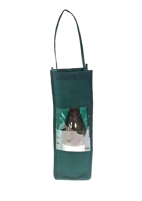 Wine Bottle Carrier - Green