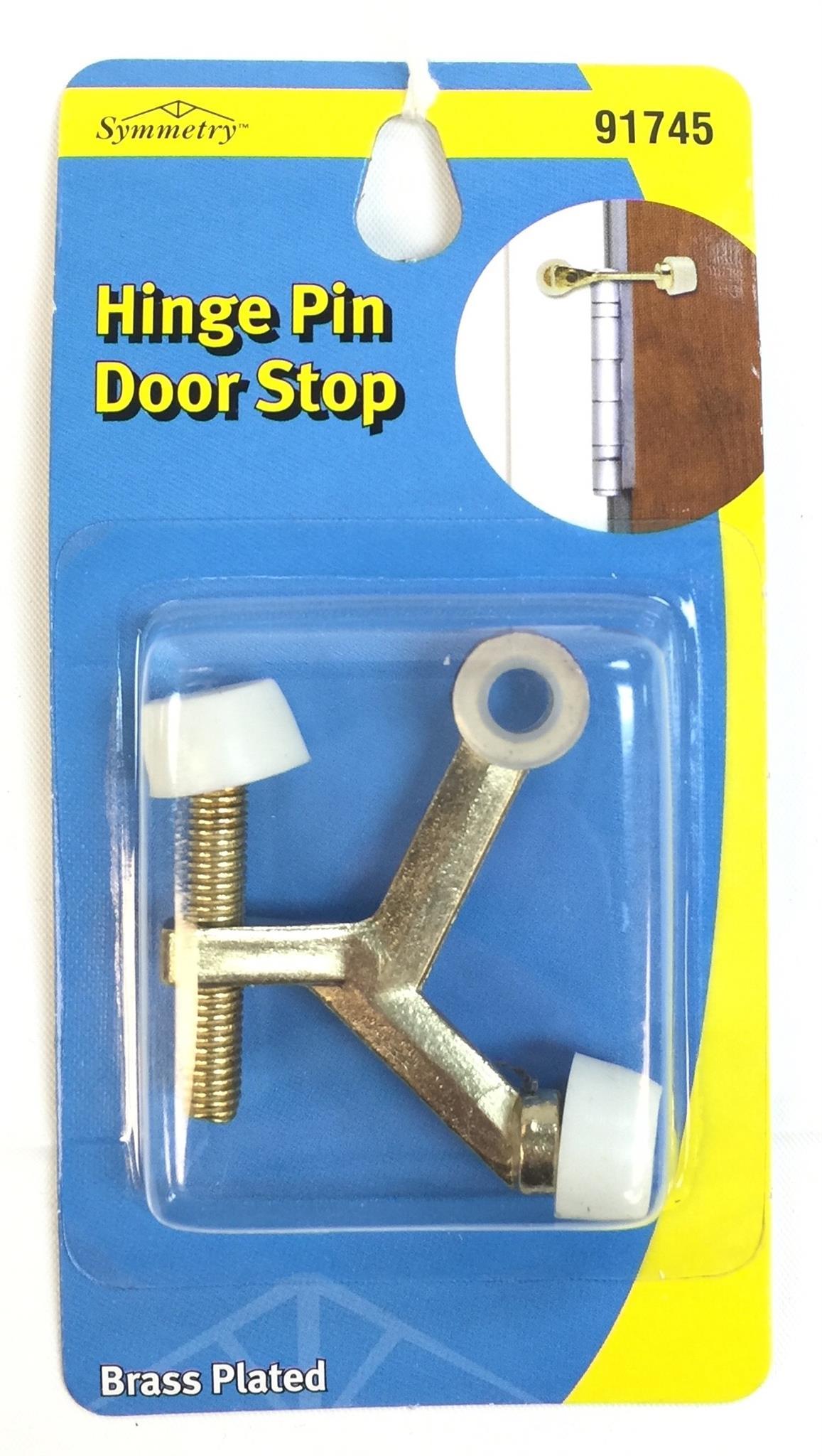 Door Stop Hinge Pin Brass