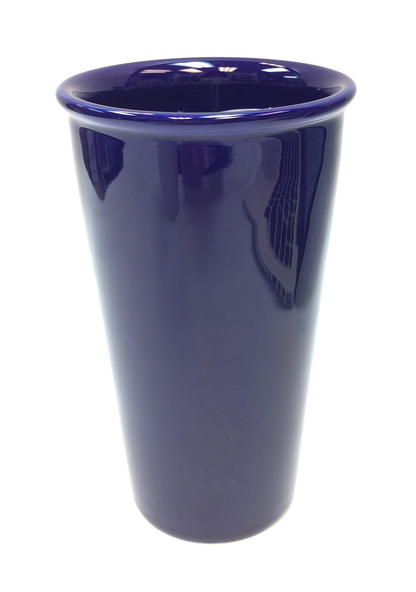 11 Oz Ceramic Travel Mug - Cobalt