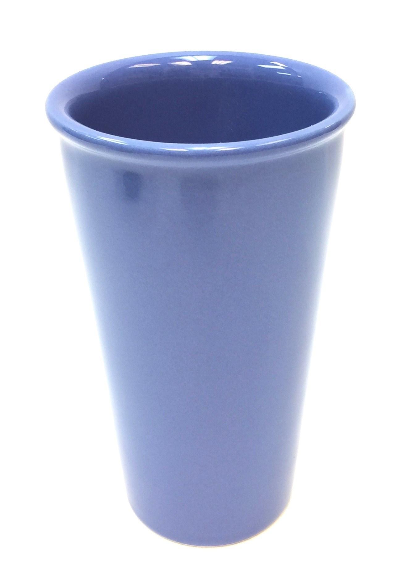 11 Oz Ceramic Travel Mug - Ocean Blue