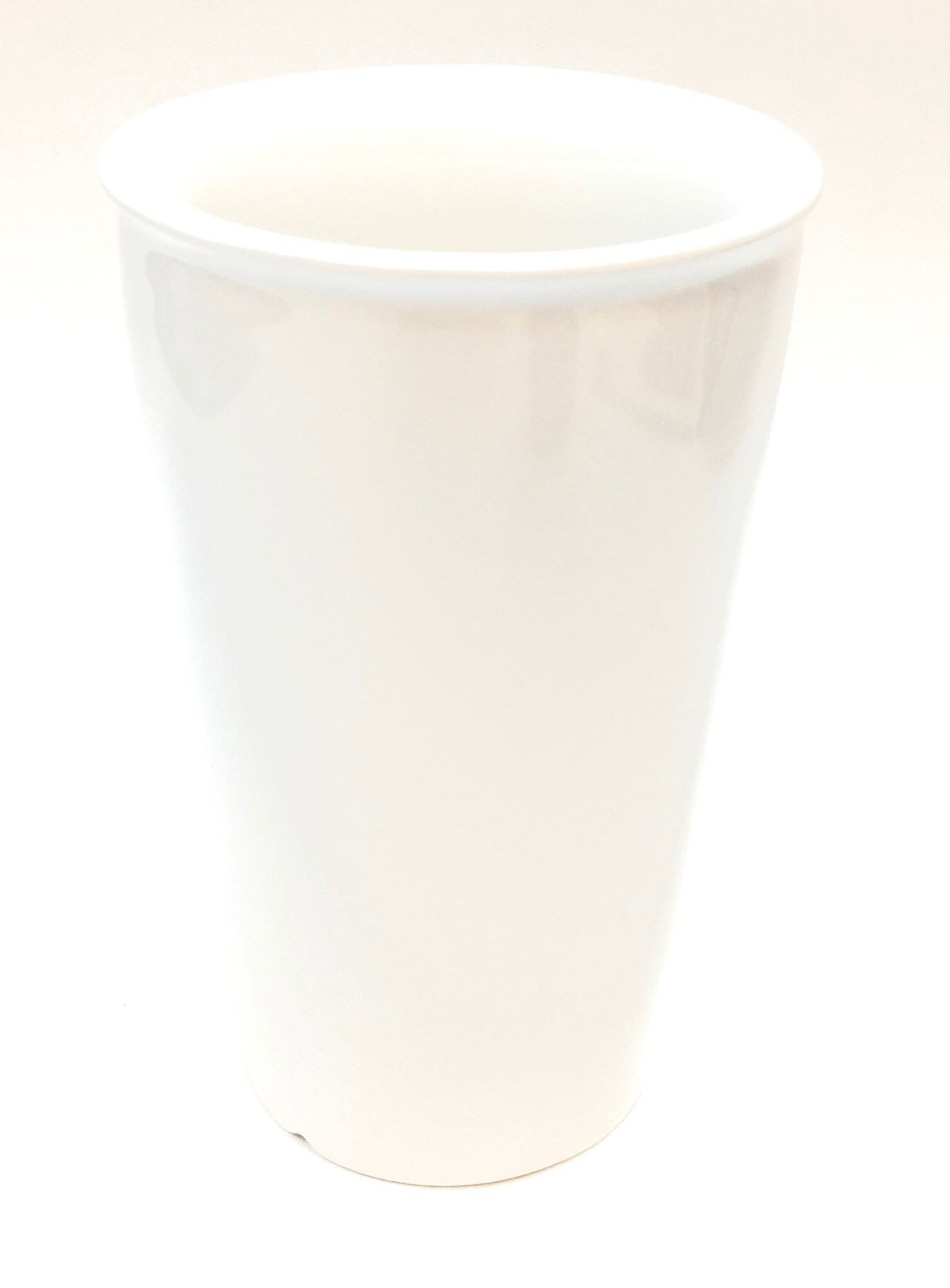 11 Oz Ceramic Travel Mug - White