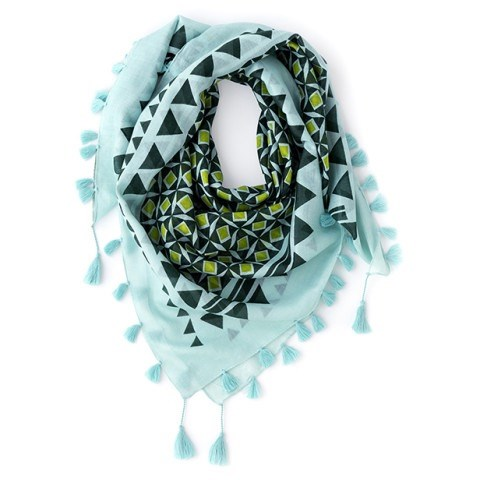 Azul Fashion Scarf Mint