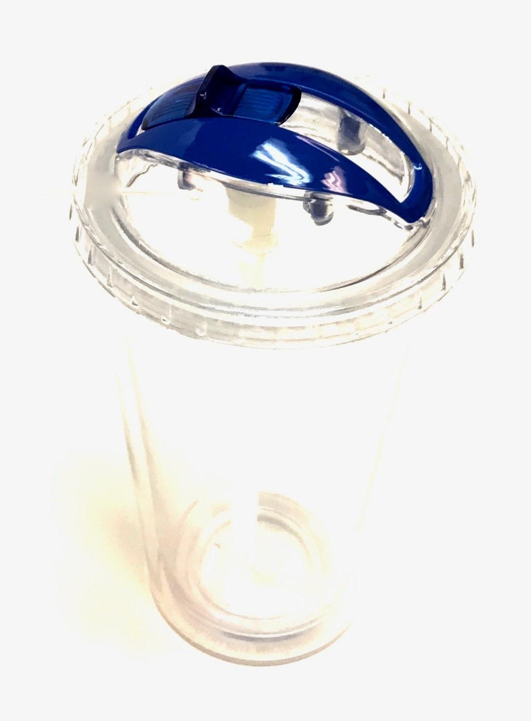 Disappear Straw Tumbler-Cobalt