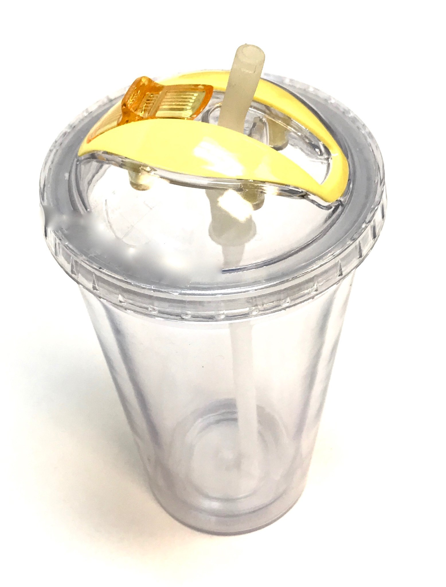 Disappear Straw Tumbler-Yellow