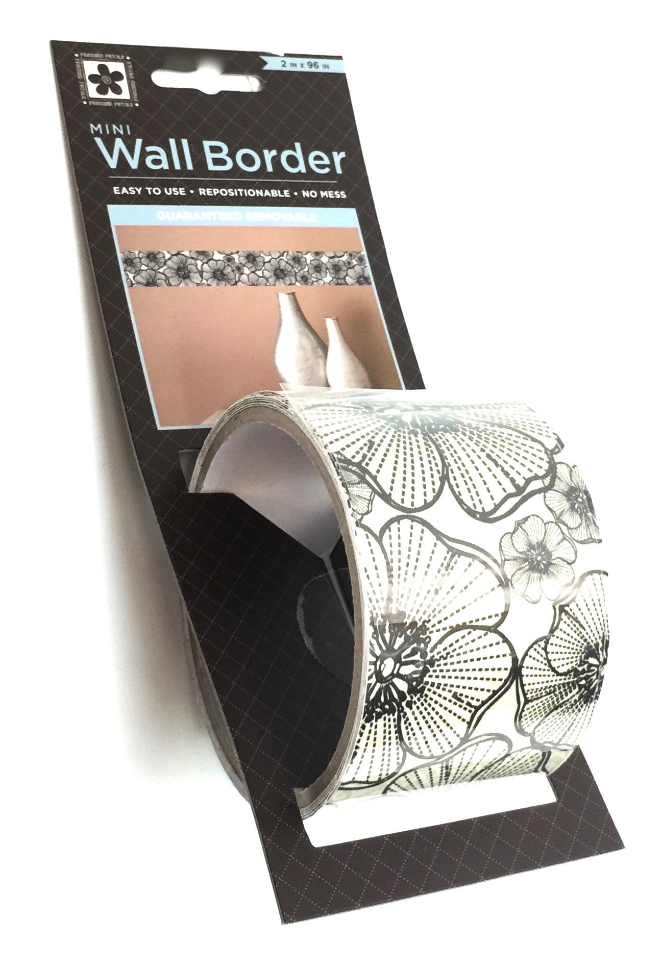 Wall Border-Lace Flowers