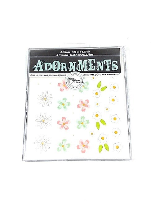Adorn Stickers- Daisies