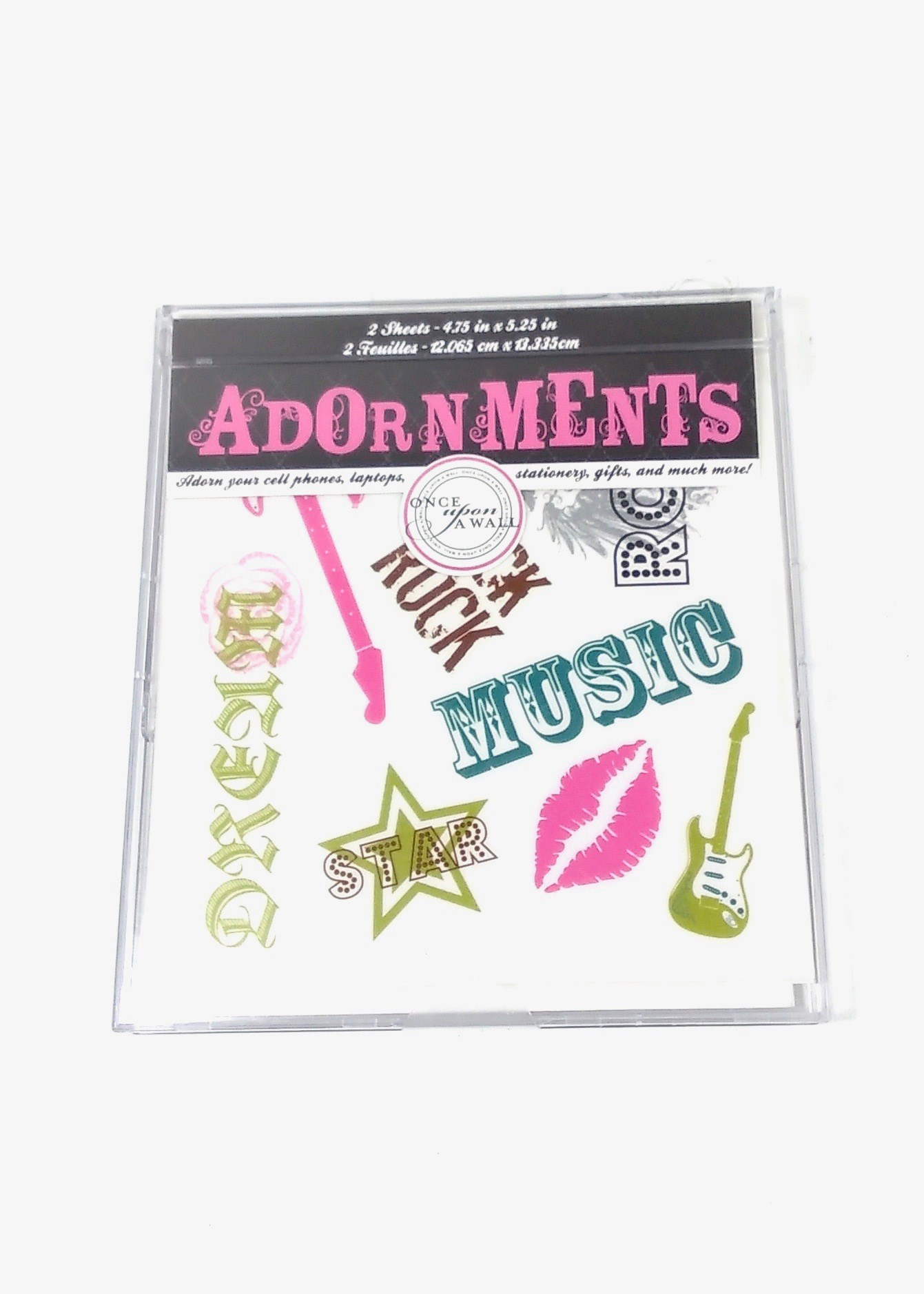 Adorn Stickers- Rock N Roll