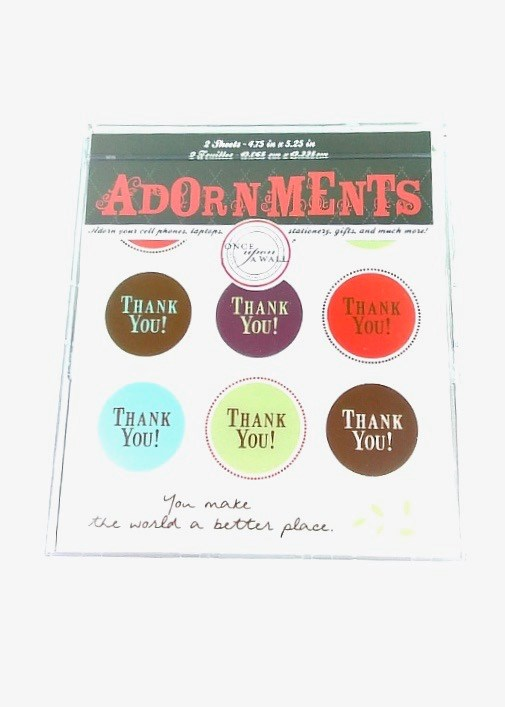 Adorn Stickers- Gratitude