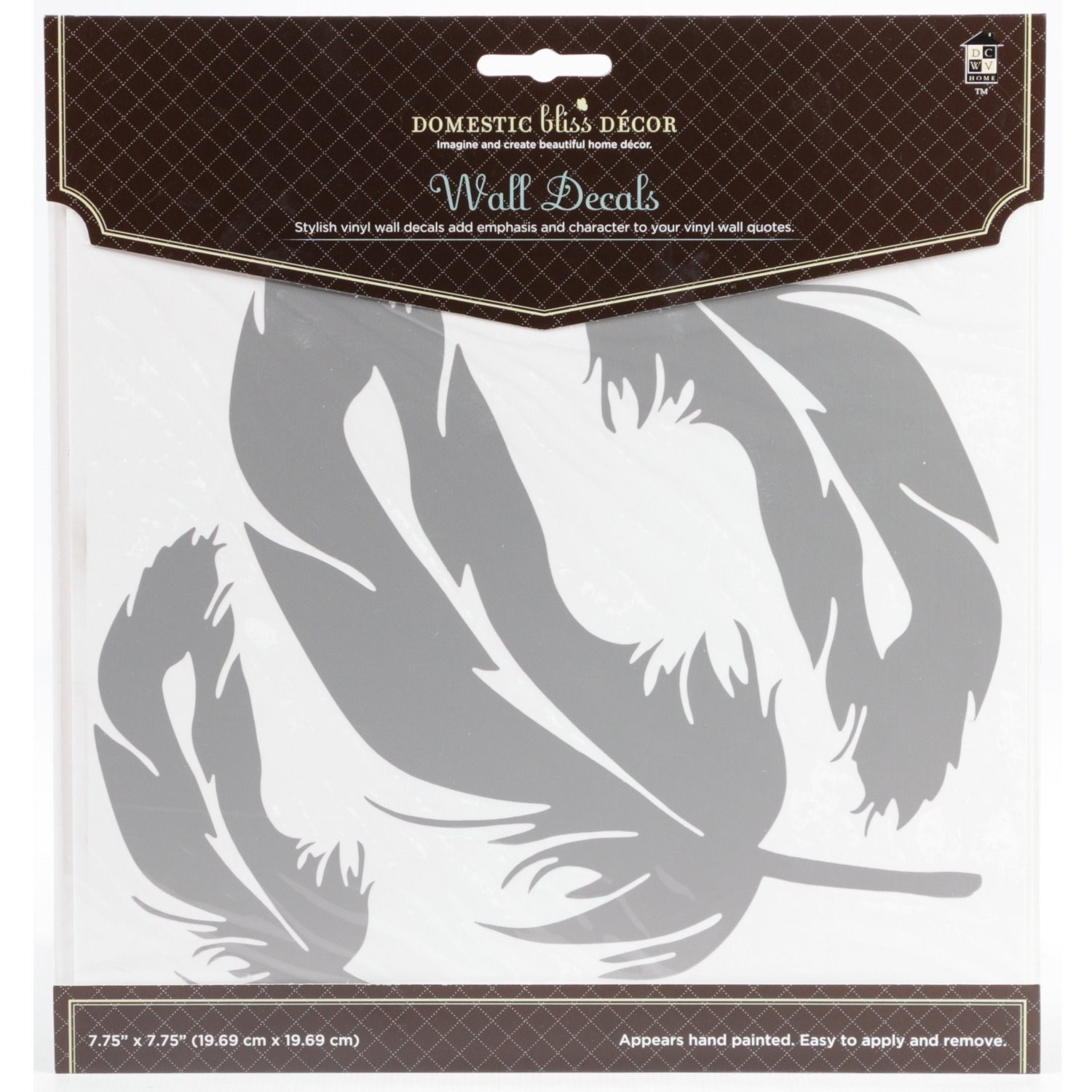 Home Craft Decals Feathers