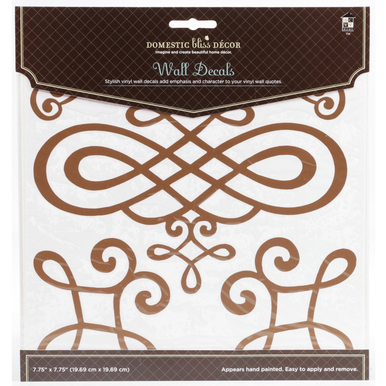 Home Craft Decals Scroll