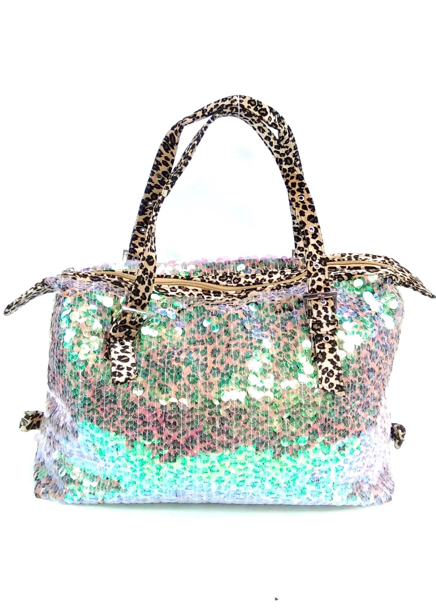 Multi Glitter Handbag