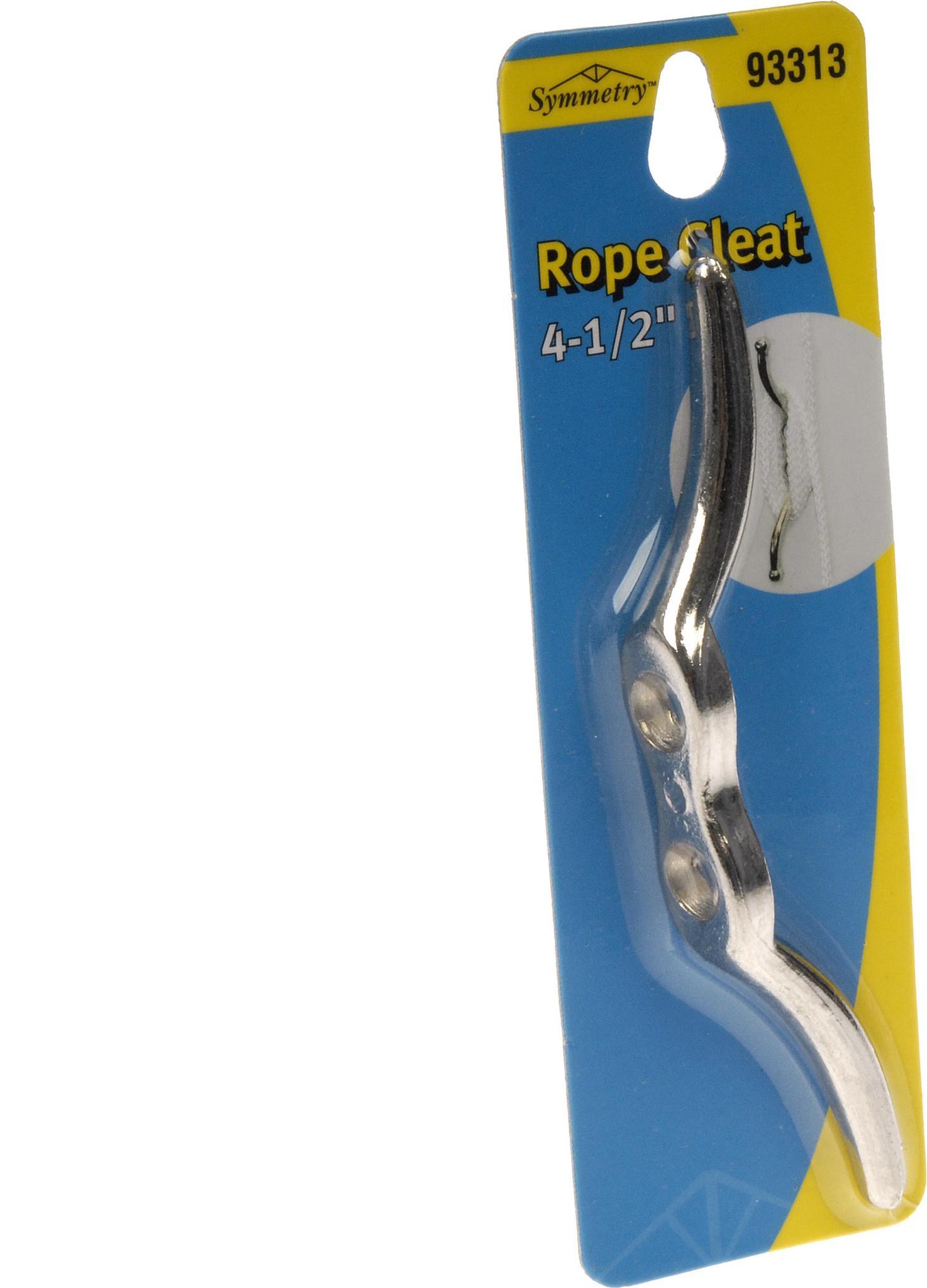 """Rope Cleat 4-1/2"""" W/Screw Eye"""