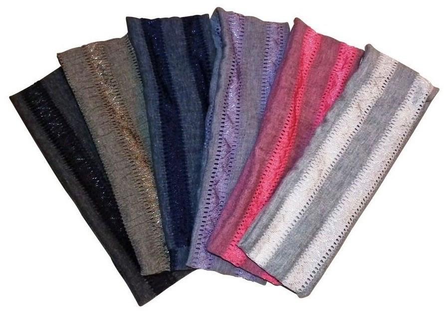 Soft Stripe Headbands Asst