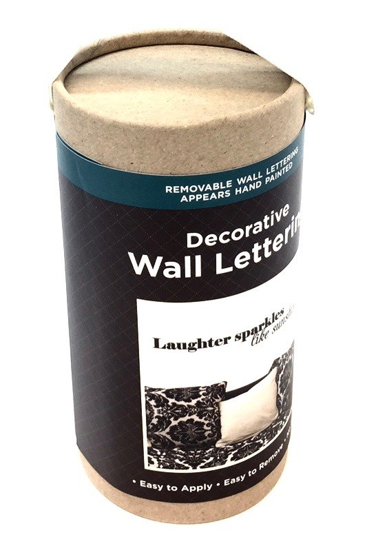 Wall Lettering - Laughter Sparkles Like Sunshine