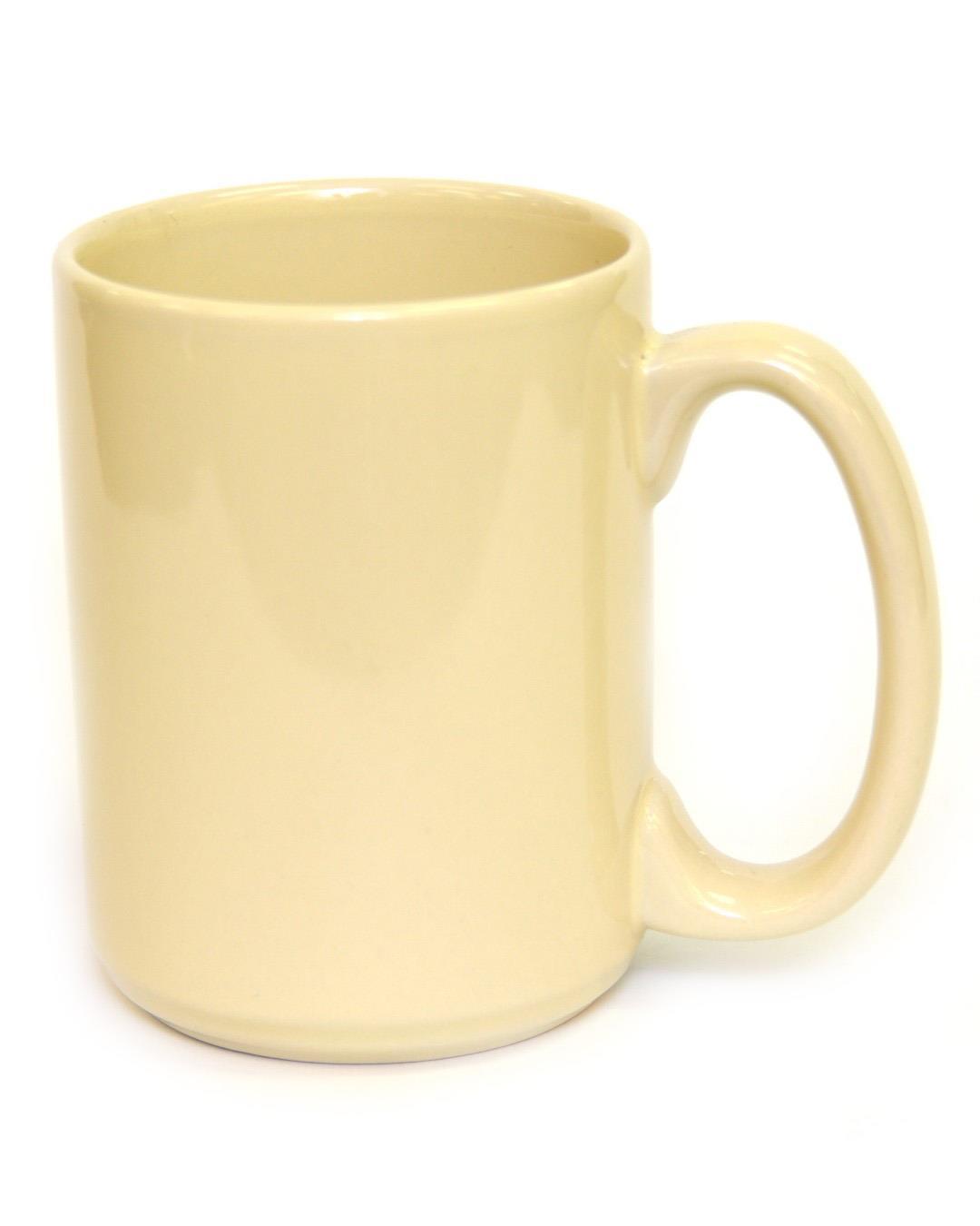 15 Ounce Coffee Mug Almond