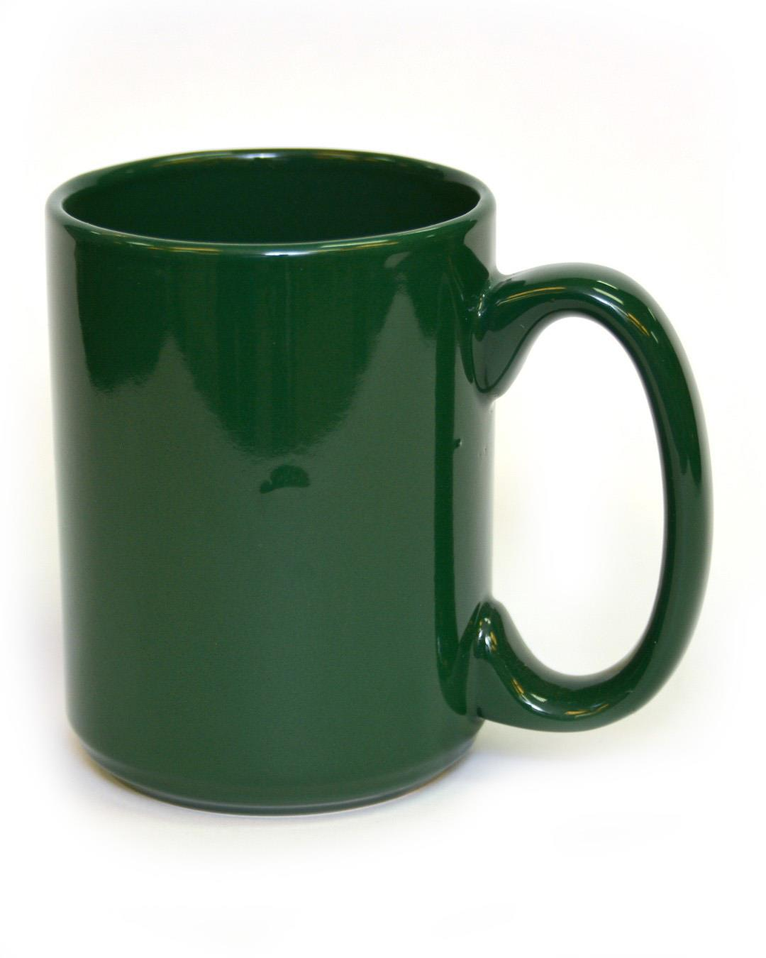 15 Ounce Coffee Mug Green