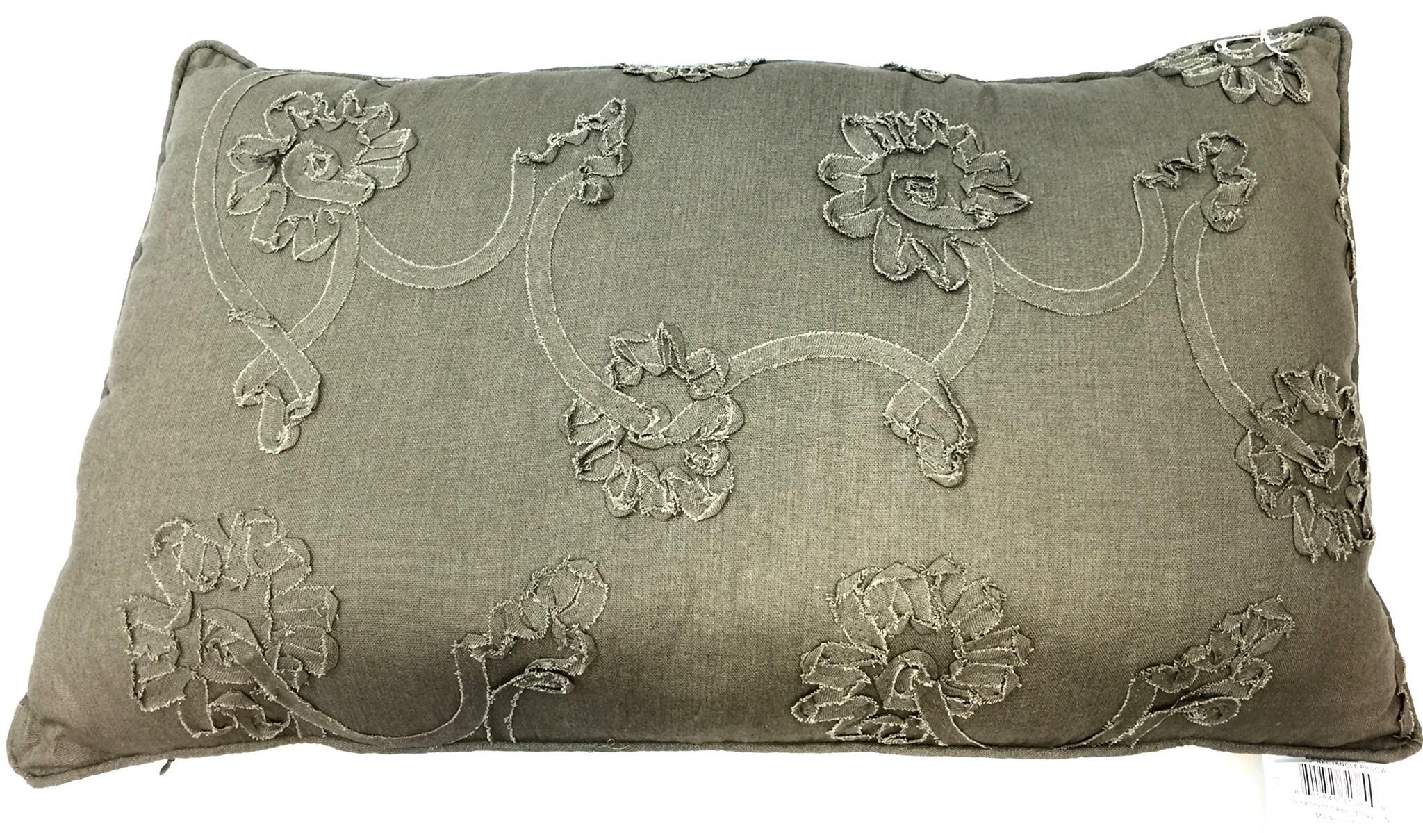 15x25 Pillow - Grey