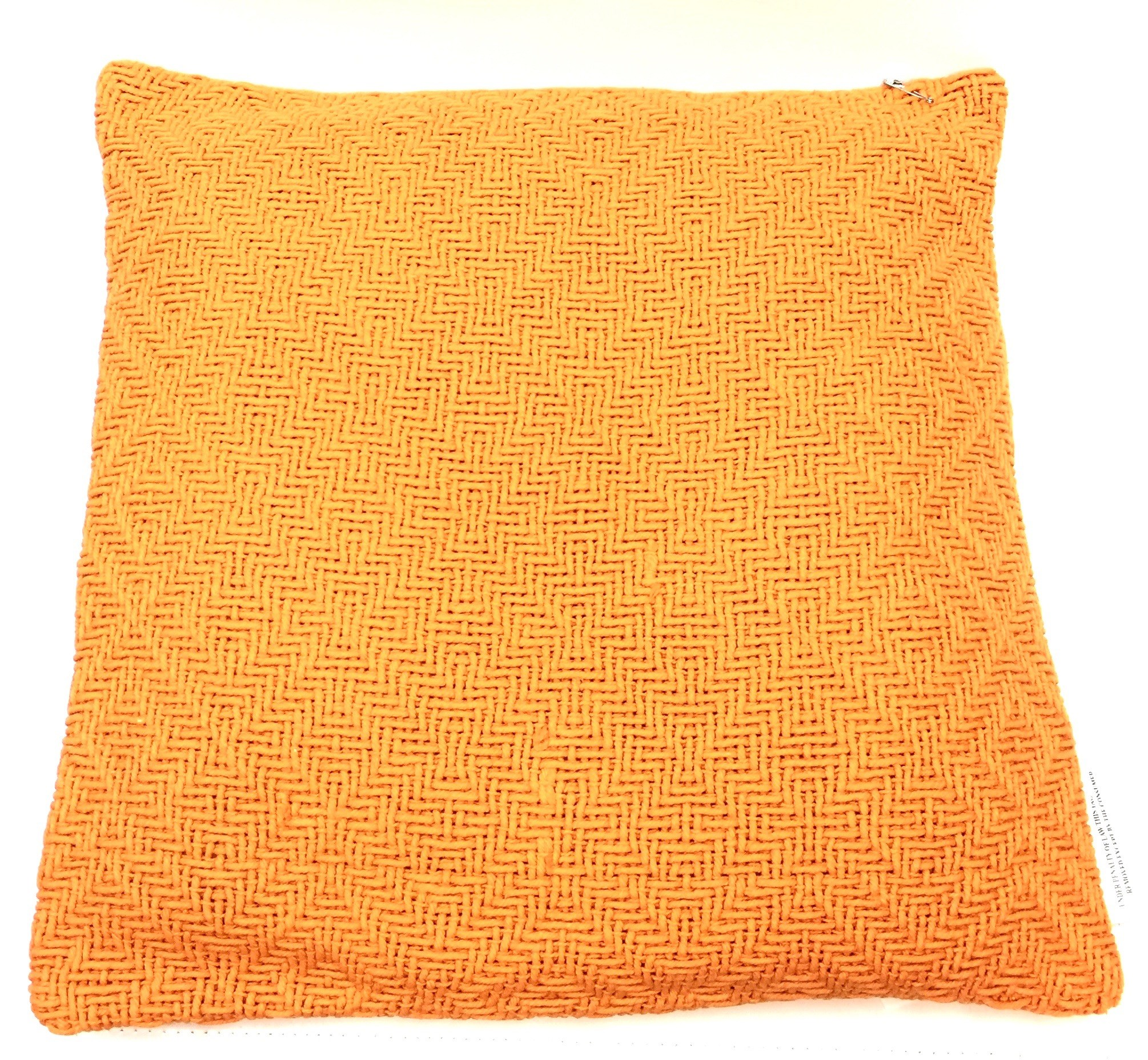 (543-553) 18x18 Chelsea Pillow - Orange