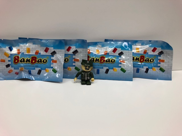 Army Man Building Toy