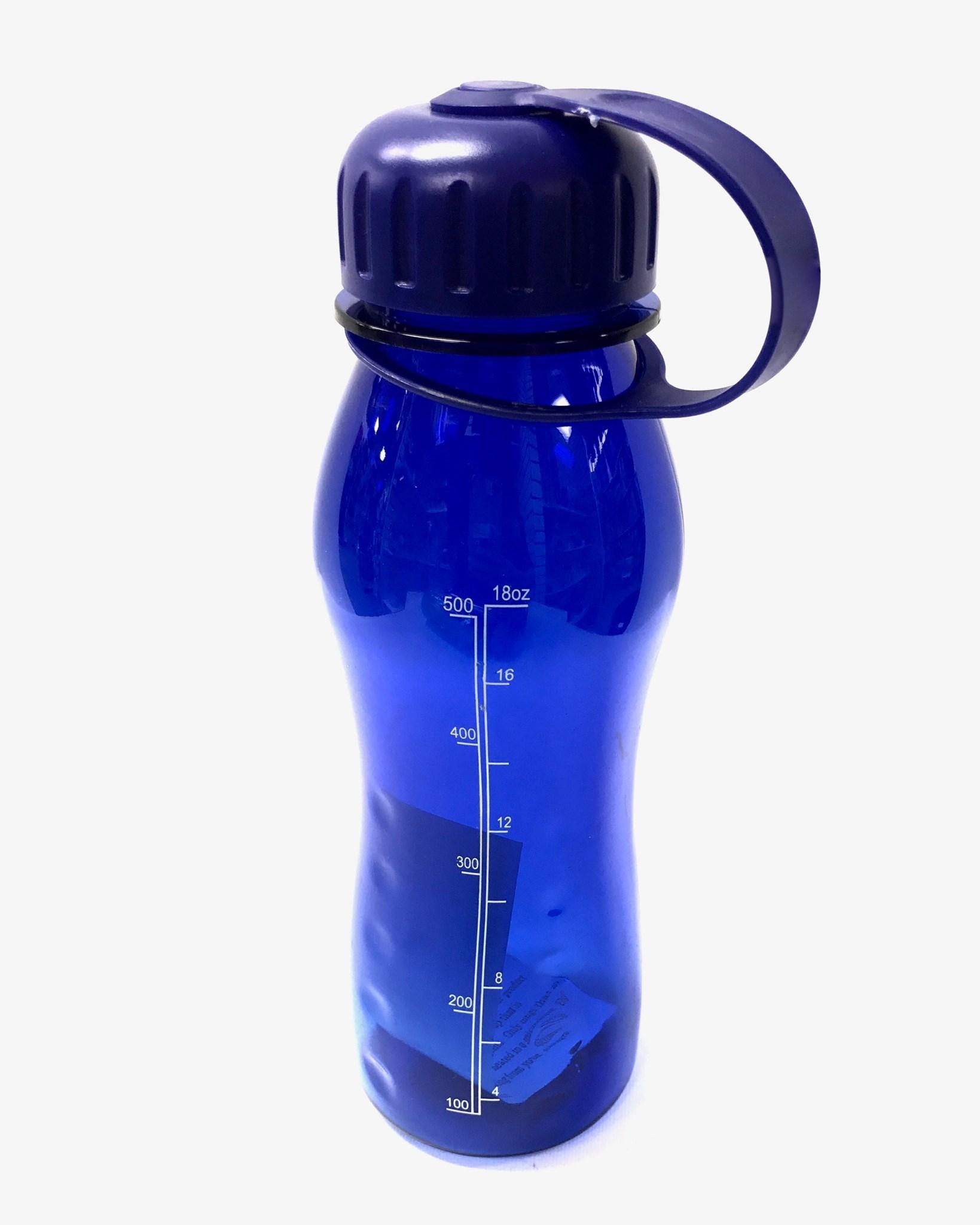 (126903) Slim Poly Bottle 21 Oz - Blue