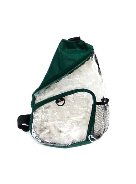 Clear Slingpack - Green