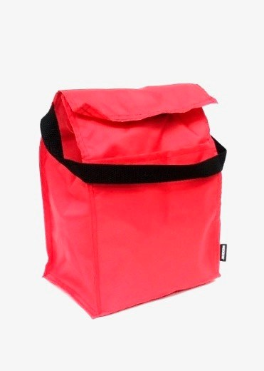 Koozie Insulated Lunch Sack - Red