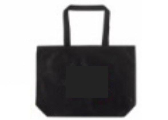 119132 Jumbo Air Tote Bag Black