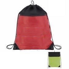 15801 Drawstring Backpack Lime