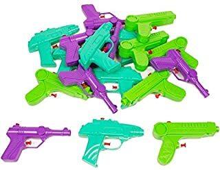 (50004) 18 Pc Pack Water Blaster Squirt Gun