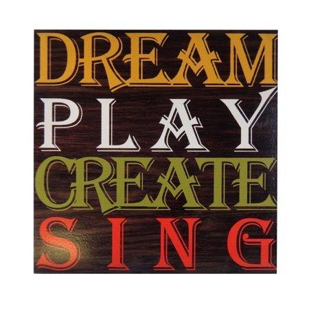 16x16 Dream Play Create Wall Art