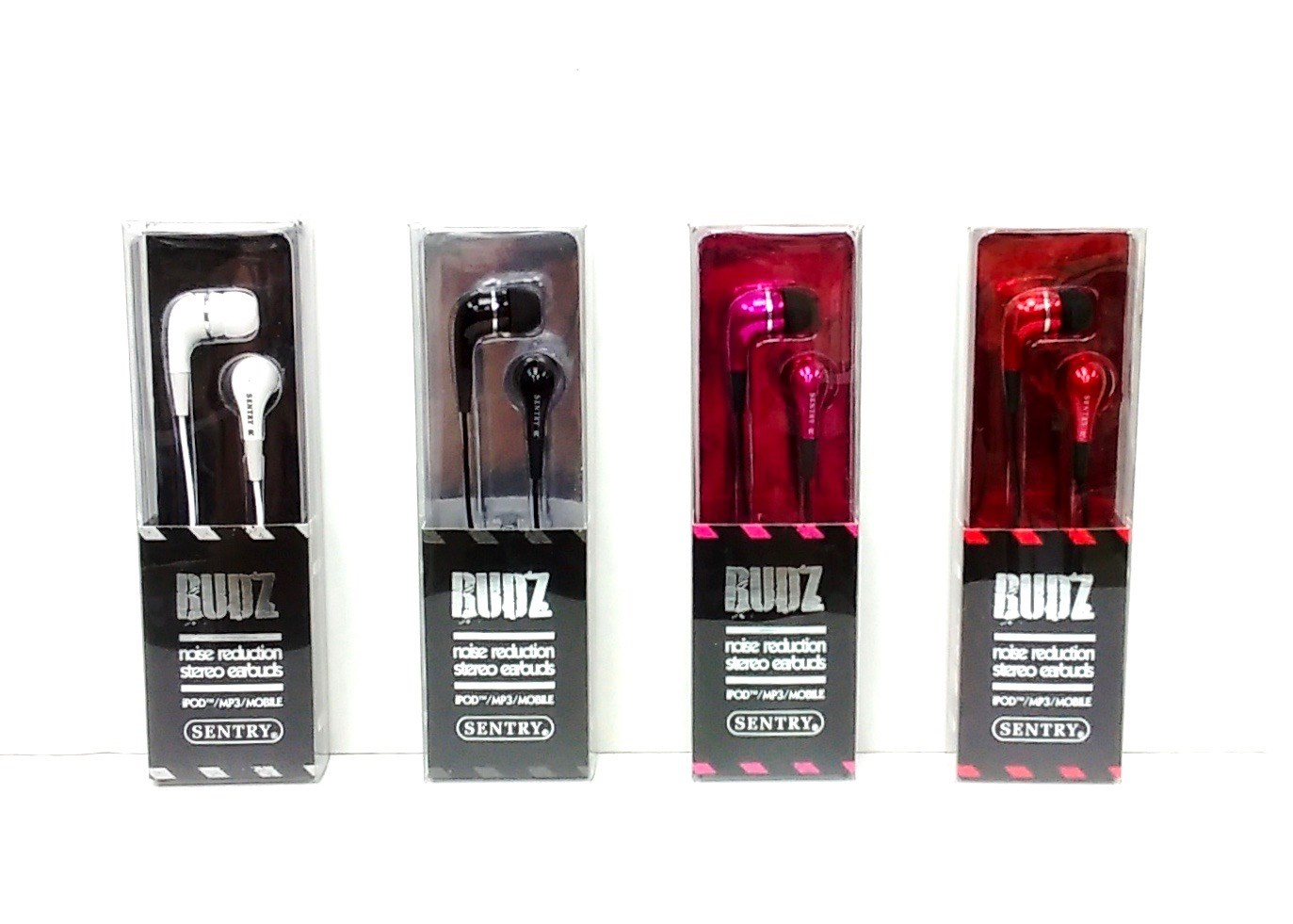 (HPS-H0105) Earbuds Assorted Colors