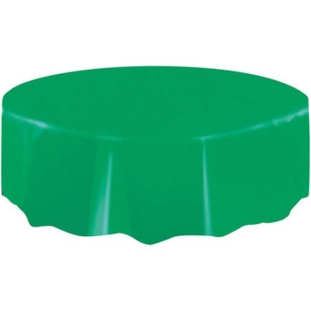"""Round Table Cover 84"""" - Green"""