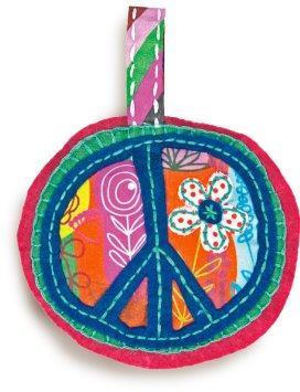 Peace Sign Ornament