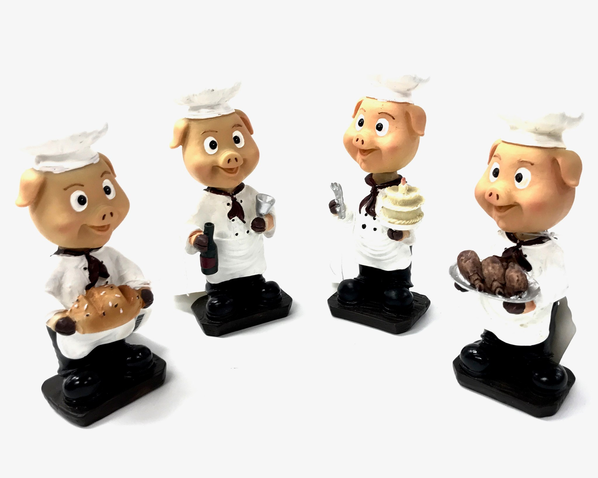 Bobble Head Pig Chef 4/A