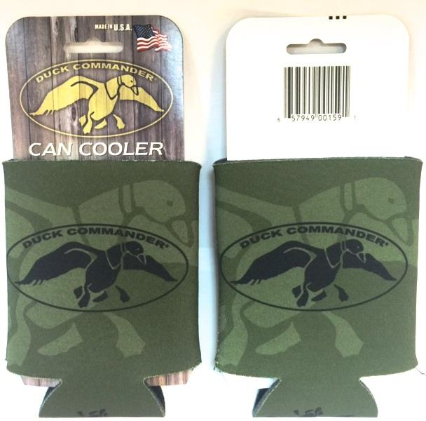 Duck Command Collapsible Can Koozie - Grn/Blk