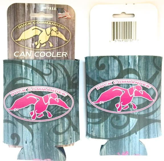 Duck Command Collapsible Can Koozie Tribal/Pink