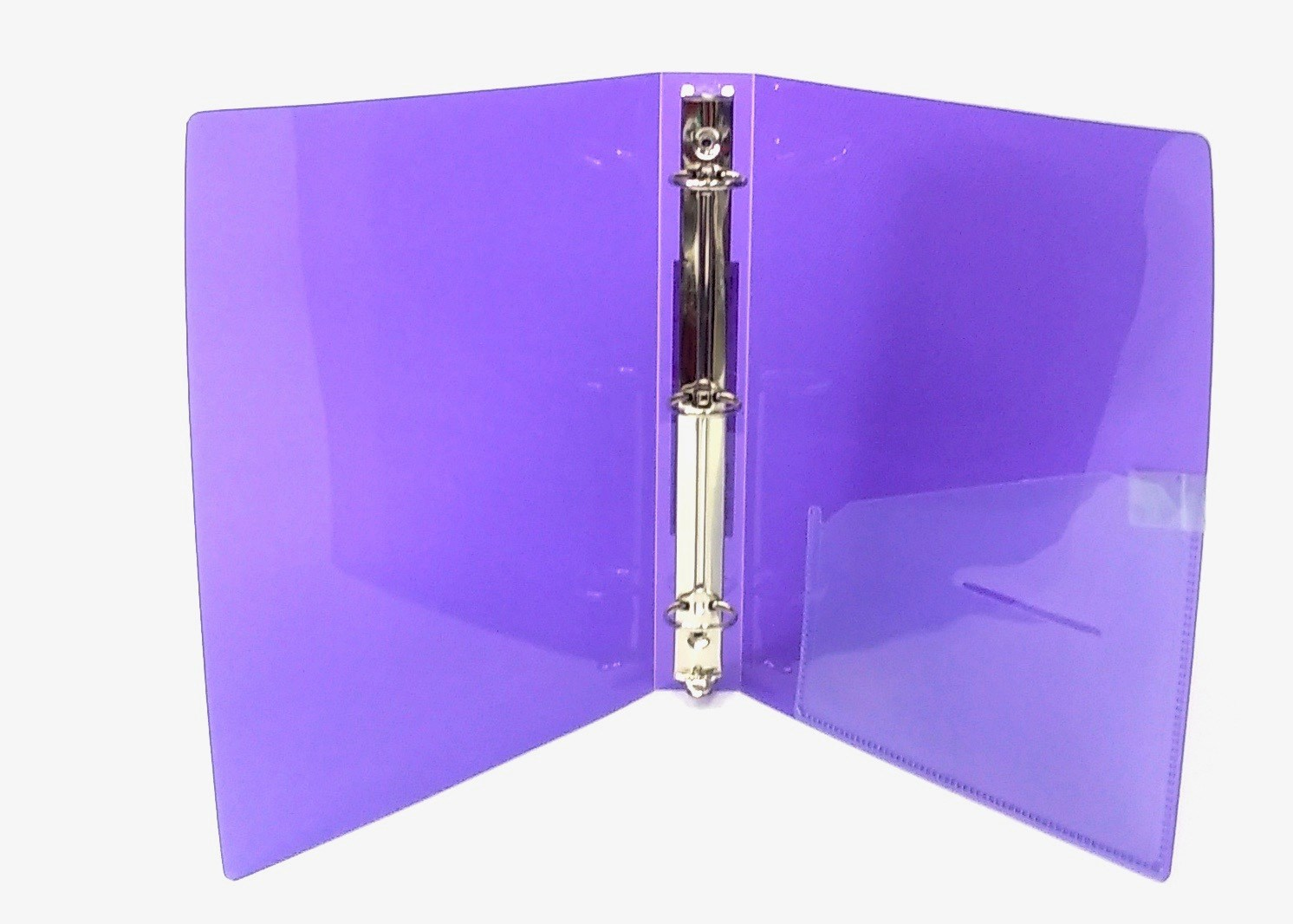 3 Ring Binder 6x9 - Purple