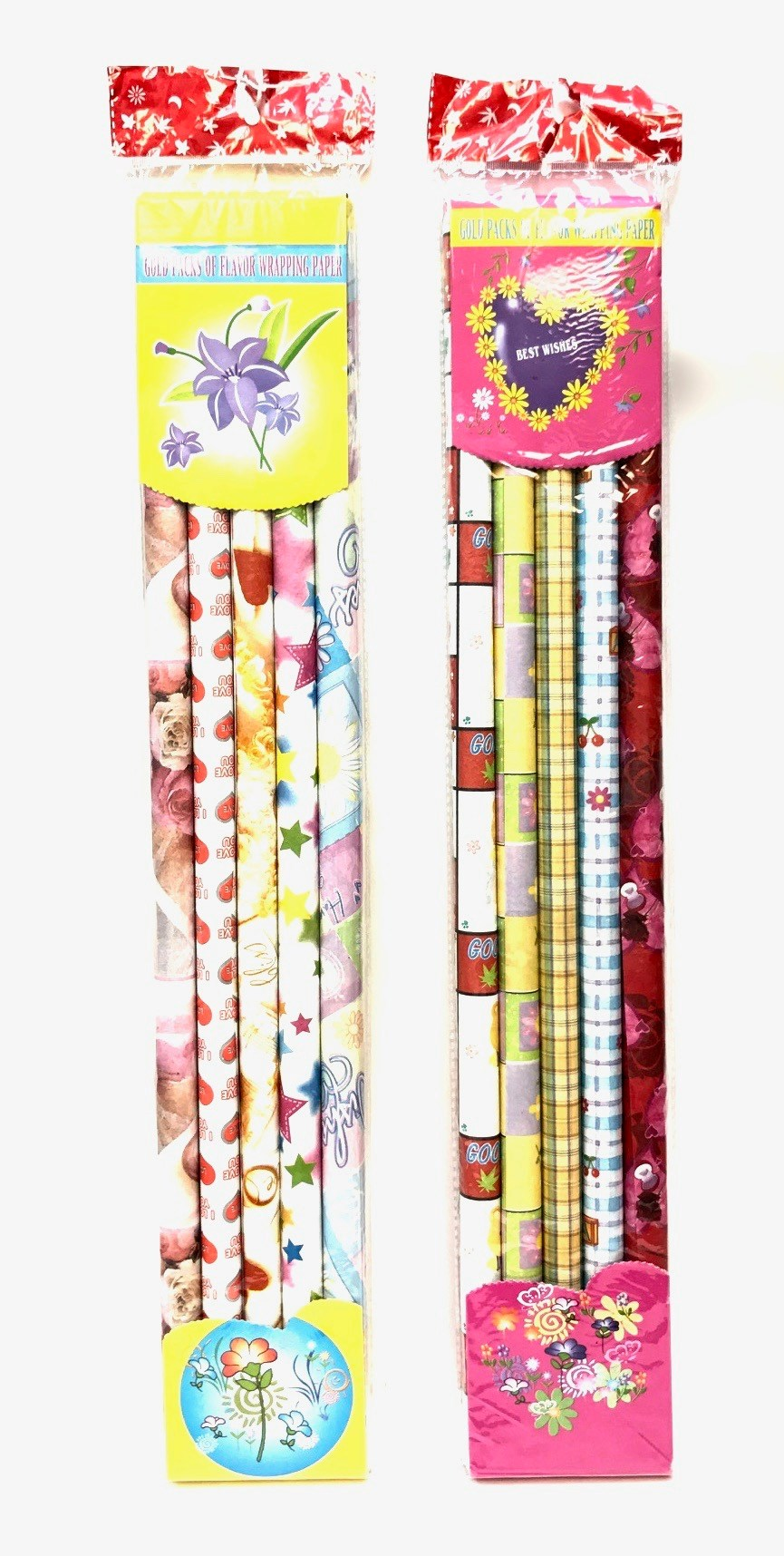 Gift Wrapping Paper 20x30 (5 Pack)