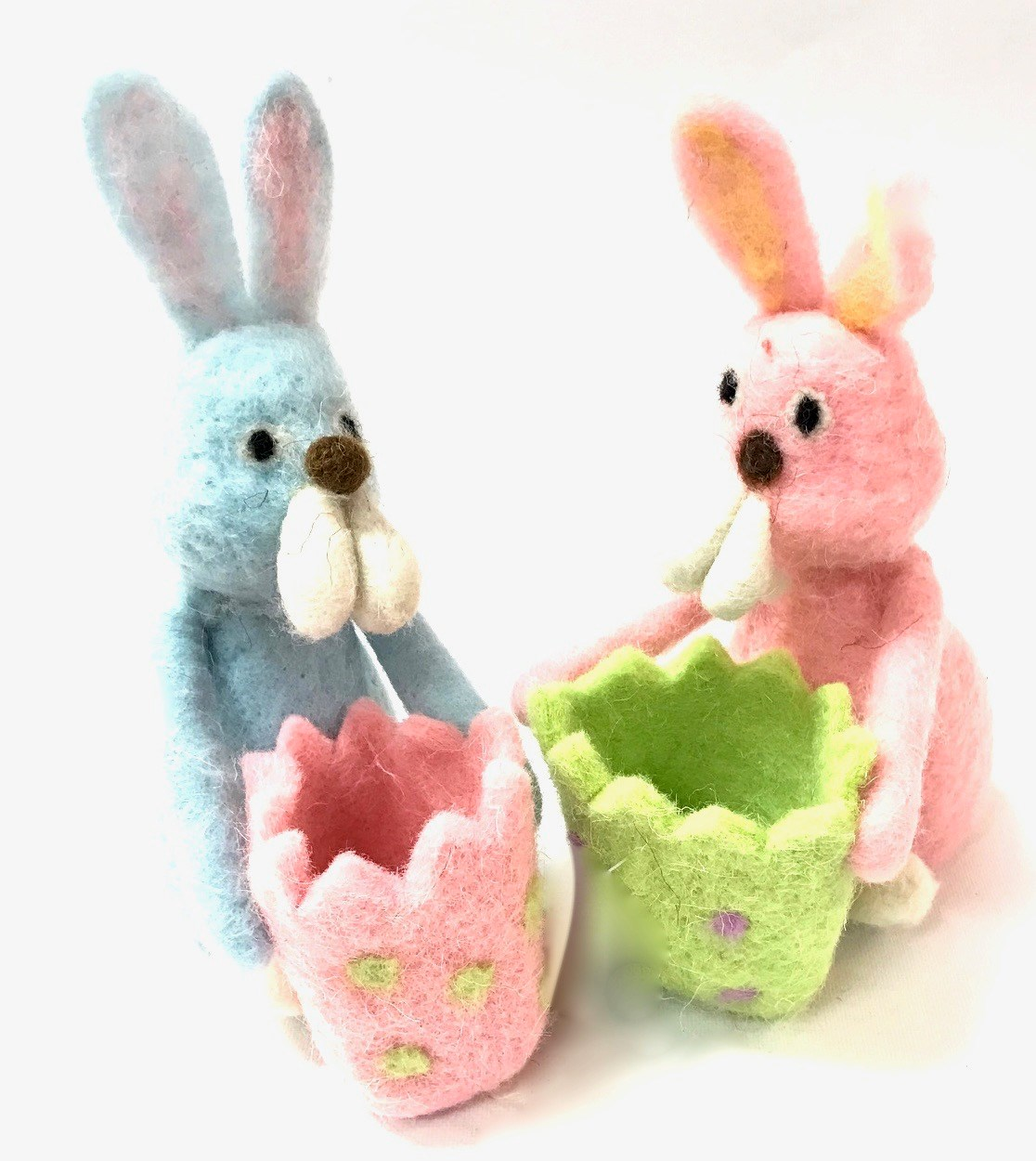 Easter Rabbit w/Egg Holder Set/2