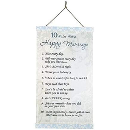 Happy Marriage Canvas Art