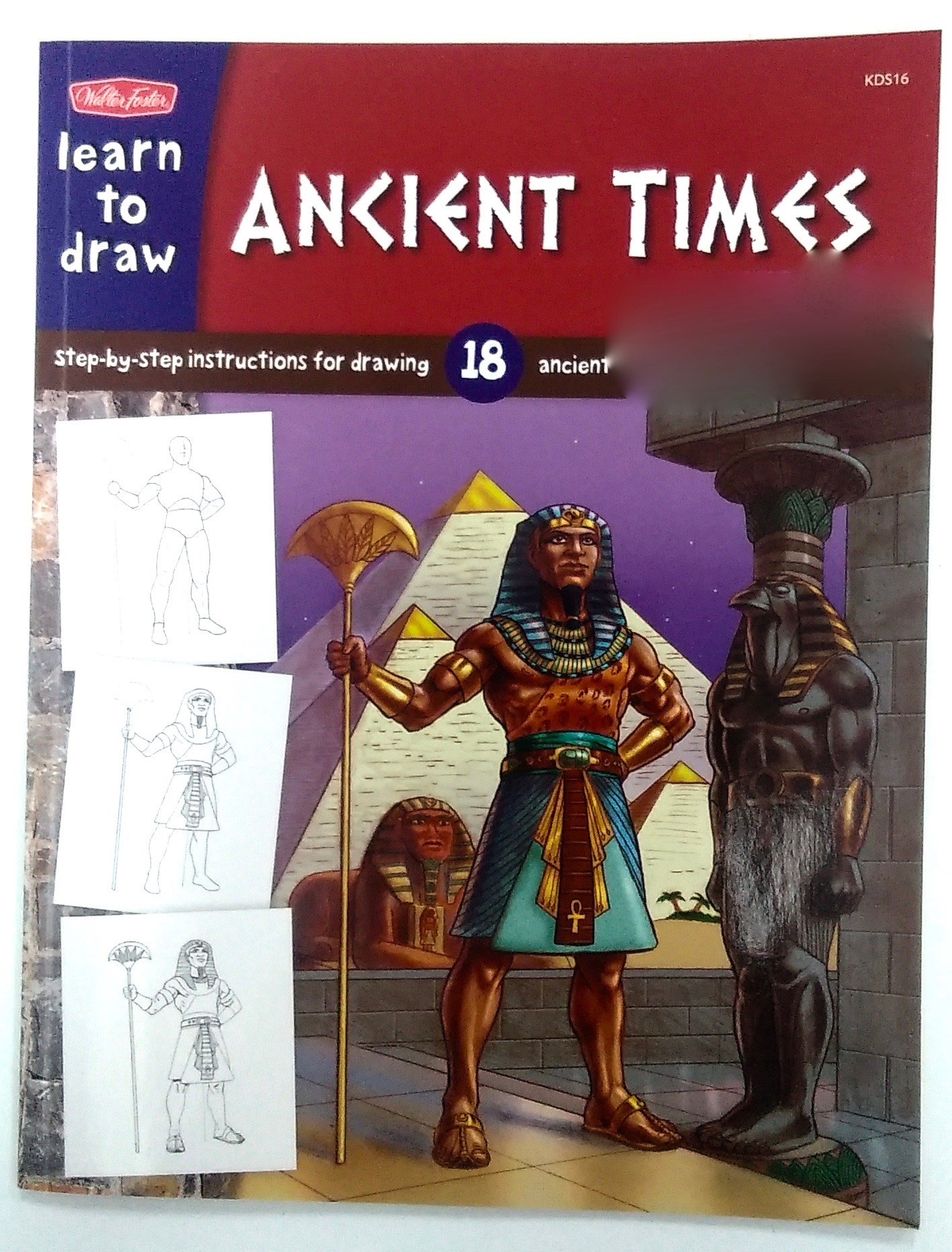 Learn To Draw Ancient Times Book