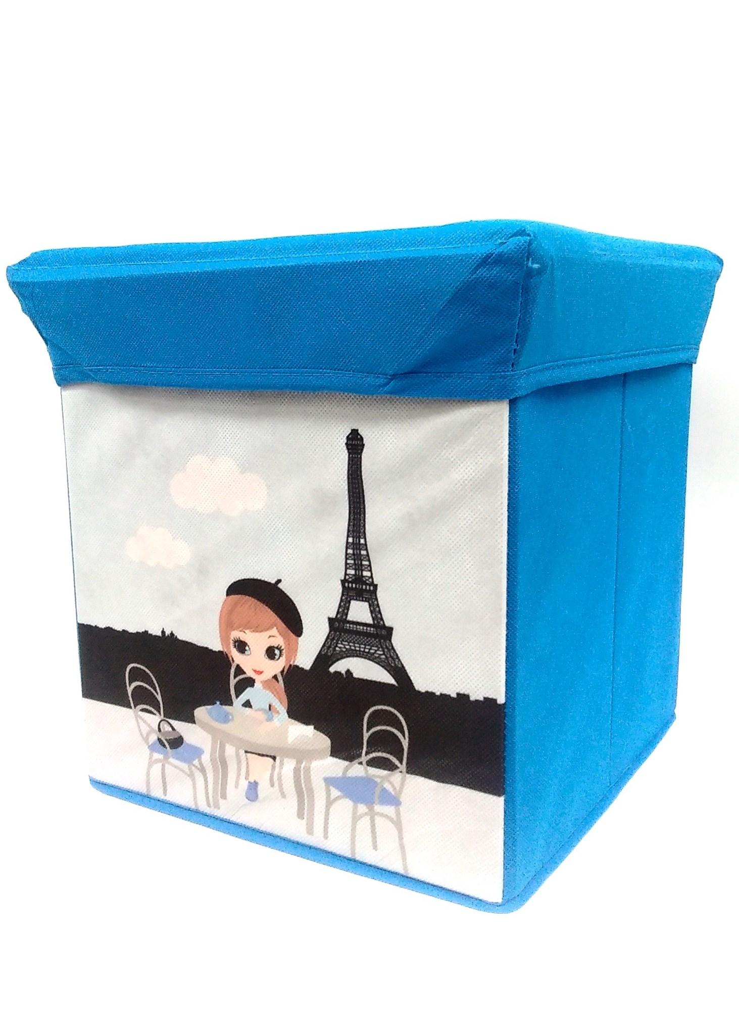 Storage Stool - Paris Kid