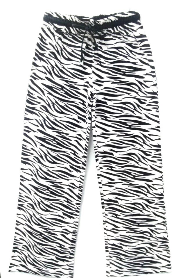 Womens Lounge Pant - Zebra