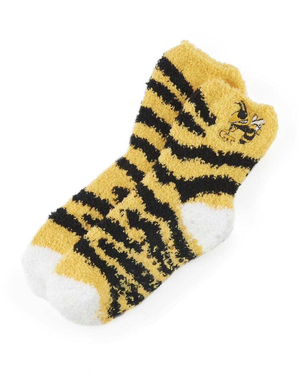 Women's Plush Slipper Sock - Georgia Tech