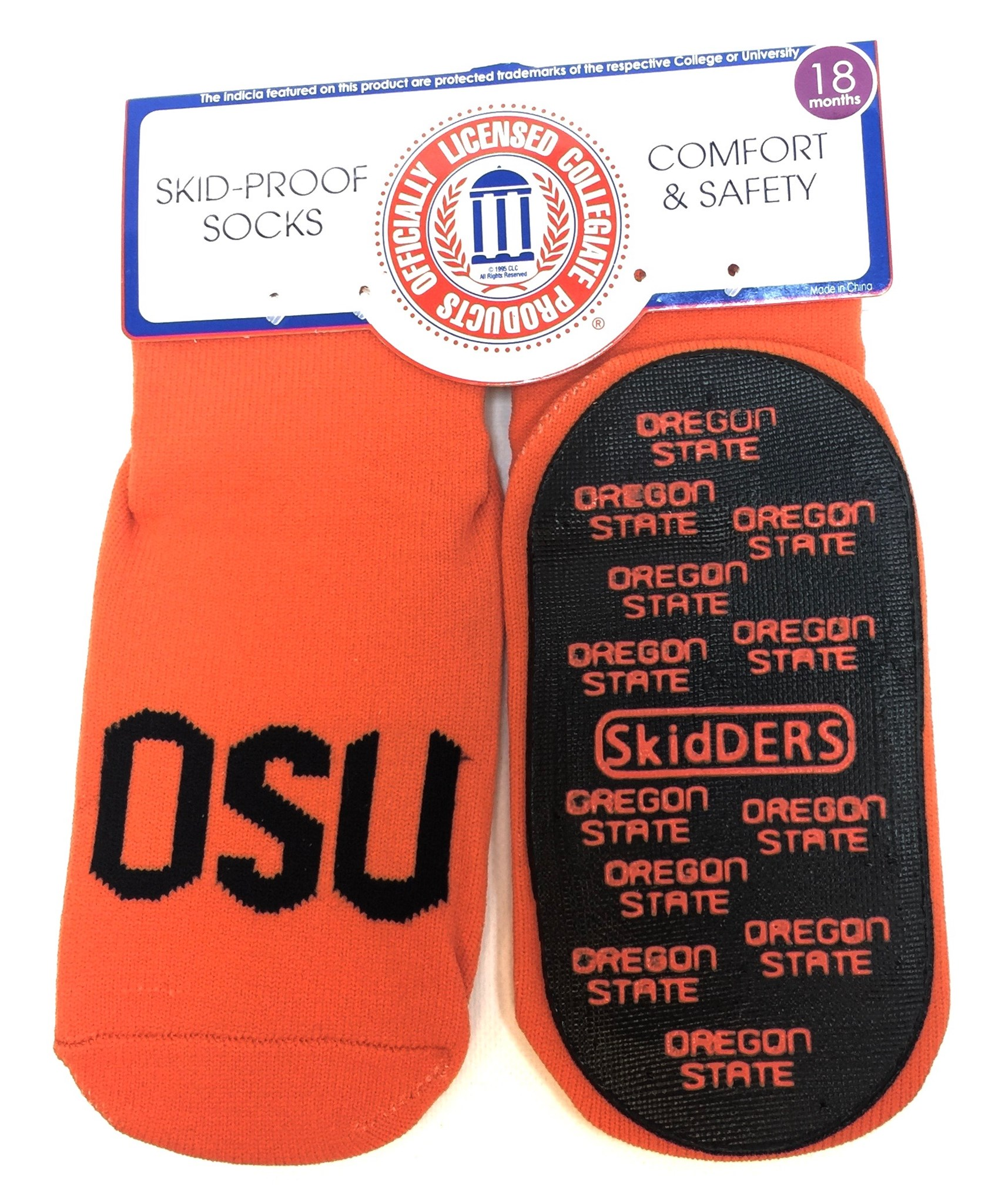 1 Pk Skid Proof Sock - Oregon State